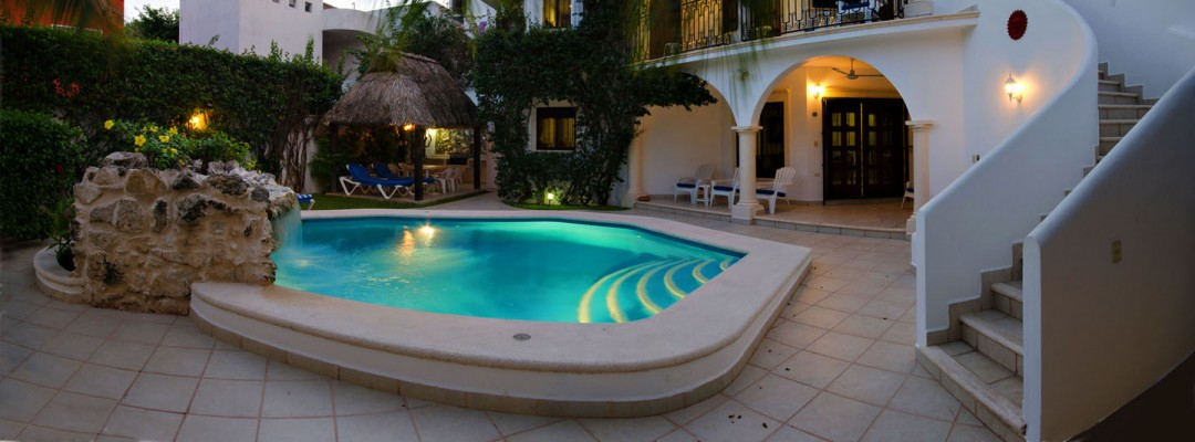 Private vacation villa to rent in Cozumel