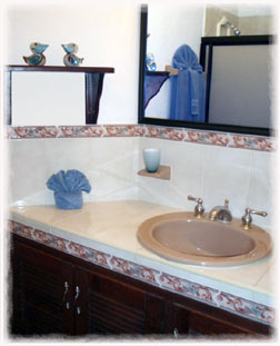 Cozumel vacation rental villa bathroom