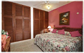 Cozumel vacation villa- king size bed