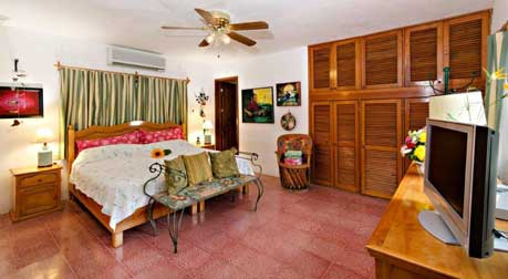Cozumel real estate - 2 bd  home with pool