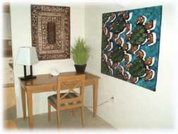 desk at Casa Cozumel