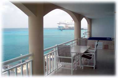 View from Casa Cozumel, Cozumel vacation condo for rent