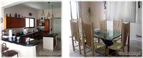 Villa Coronado kitchen and dining area
