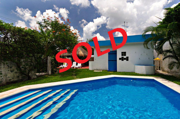 Cozumel real estate for sale - 2 bd home