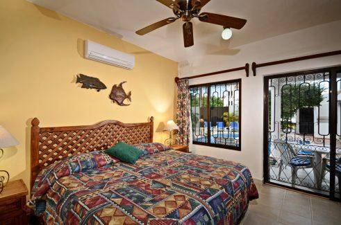 Cozumel vacation rental villa king size bed