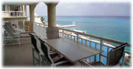 View from Casa Cozumel, a Cozumel vacation rental condo