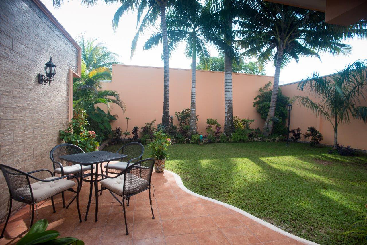 Garden at Cozumel studios