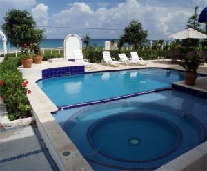 Beach area vacation rental villa in Cozumel