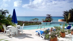 Beach area Cozumel vacation villa for rent