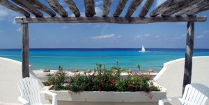 Beach area Cozumel vacation rental villa