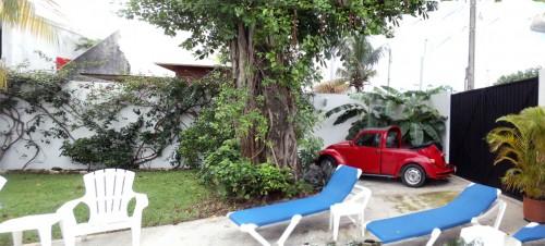 Cozumel rental condo off street parking