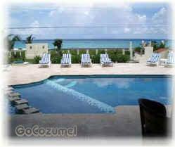 Across the pool to the ocean, Villa Coronado