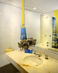 Bathroom at Cantamar 201