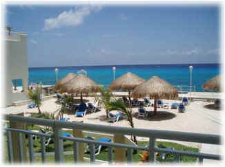 Oceanfront Cozumel vacation rental condo review