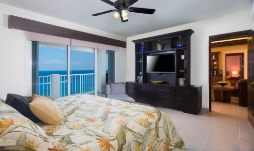 oceanfront view from this bedroom