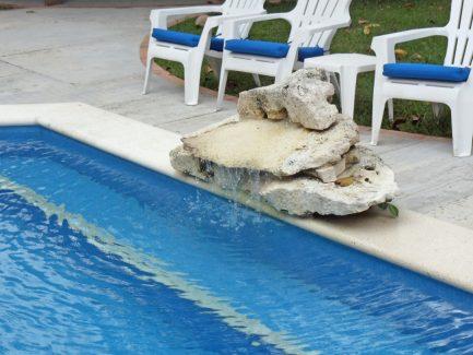 Cozumel vacation rental waterfall