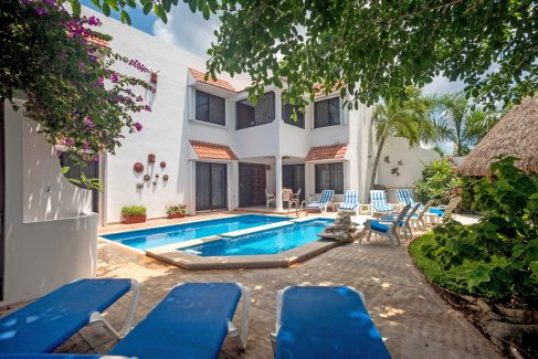 Cozumel private vacation rental Villas Topaz