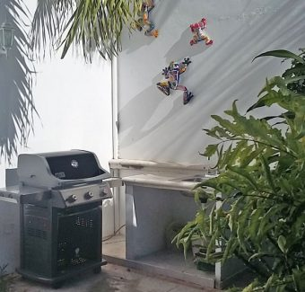 Weber gas gro;; Casa Topaz, Cozumel Mexico vacation rental