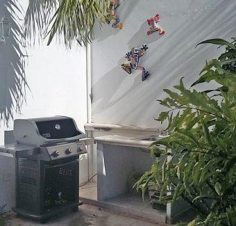 Weber gas gro;; Casa Topaz, Cozumel Mexico vacation rental