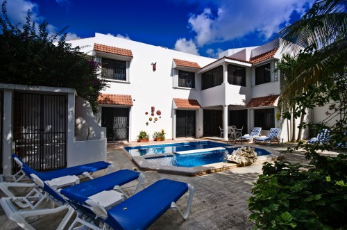 Cozumel vacation rental villa, Villas Topaz