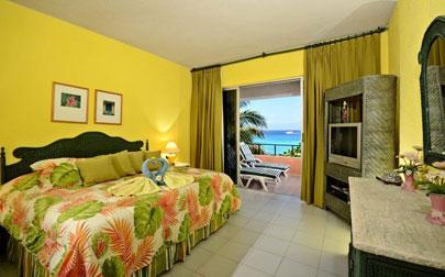 Master bedroom at Cozumel vacation rental condo