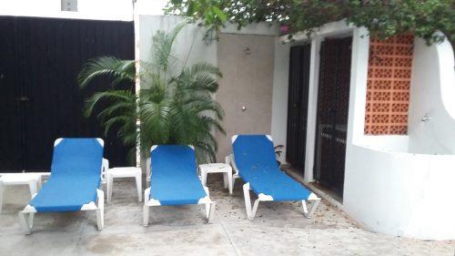 Cozumel vacation condo garden