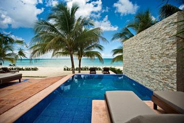 Beachfront Cozumel vacation rental villa