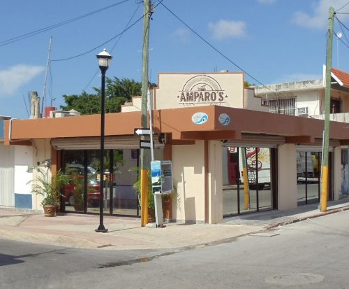 Dining at Amparos Breakfast Bistro
