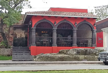 Dining at La Catrinas Cozumel