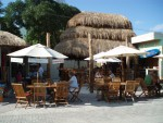 Dining at Wet Wendy's Bar and Restaurant in Cozumel
