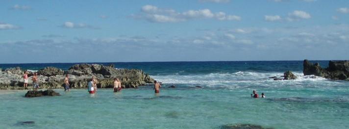 Chen Rio Beach on Cozumel