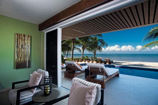 Cozumel vacation villa - beachfront rental