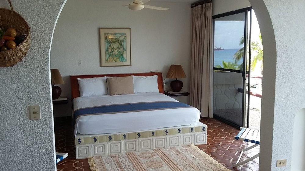 Ocean view from the bedroom