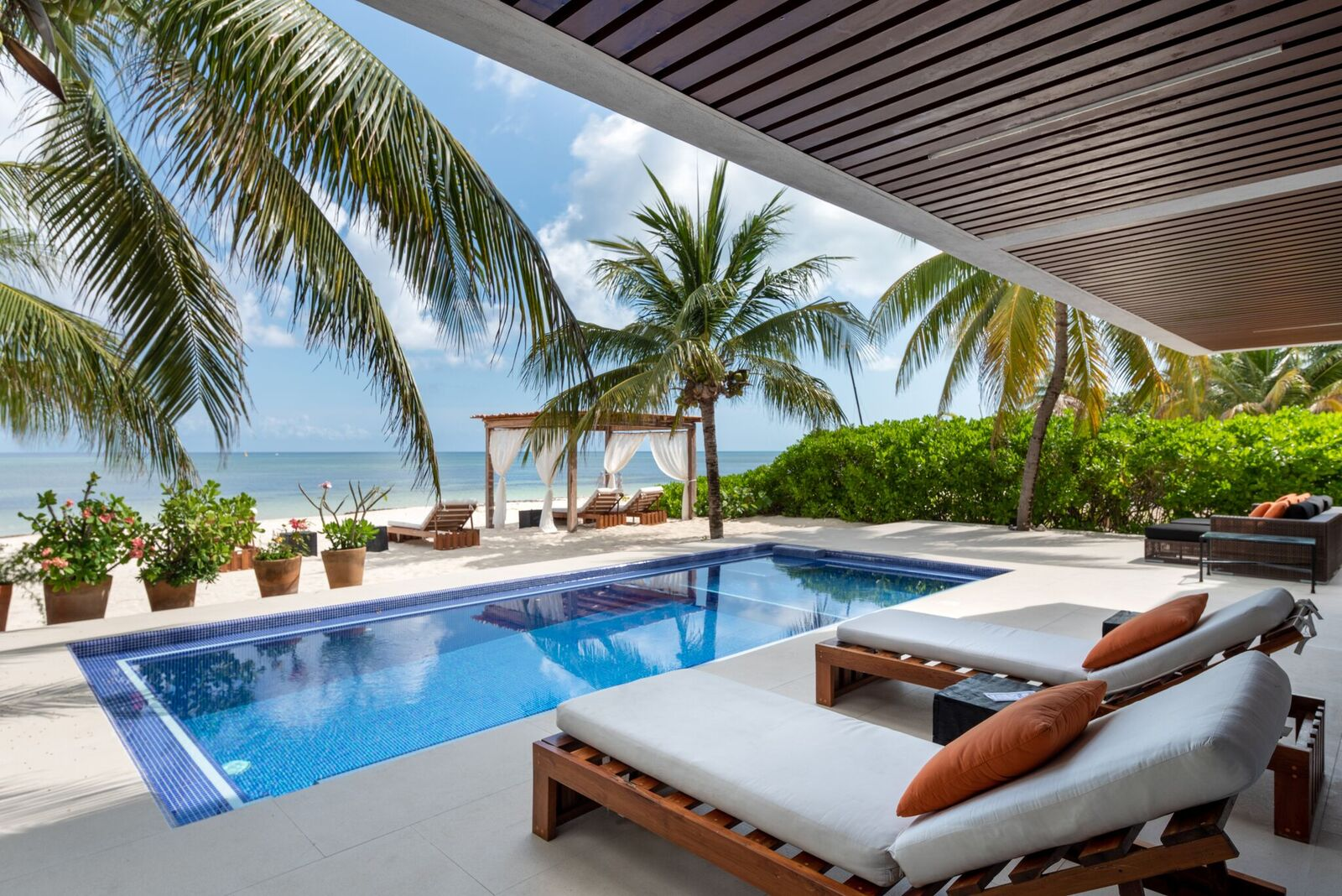 Villa del Sol - Beachfront Cozumel vacation rental villa