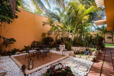 Tropical garden at Orchid